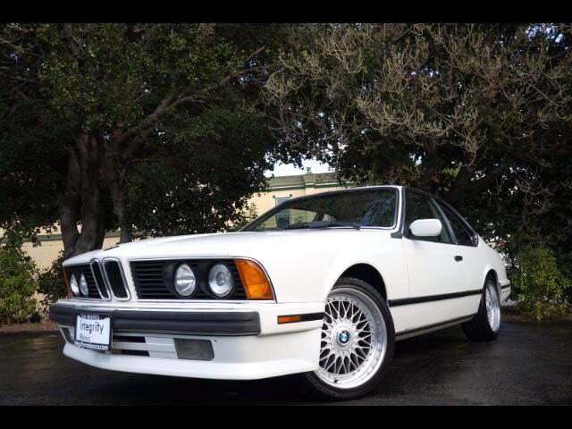 1989 BMW 6-Series 635 CSI