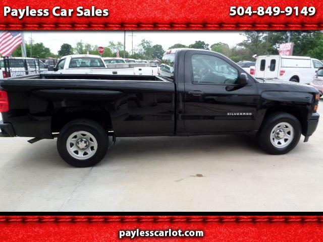 2015 Chevrolet Silverado 1500 Work Truck 1WT Regular Cab Long Box 2WD
