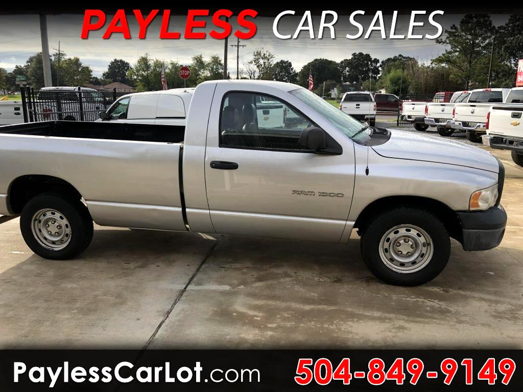 2005 Dodge Ram 1500 ST Long Bed 2WD
