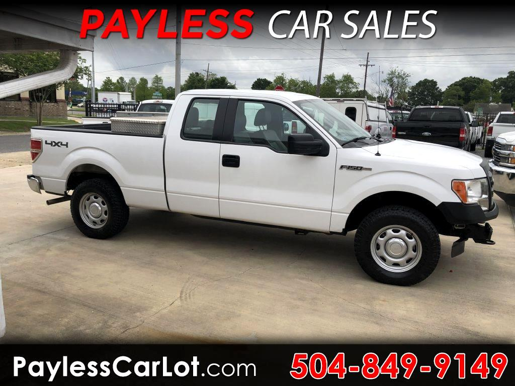 2014 Ford F-150 XL SuperCab 4WD