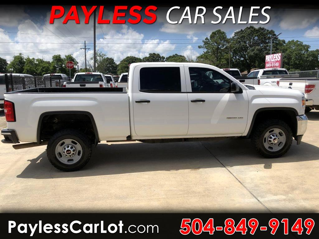 2016 GMC Sierra 2500HD Base Crew Cab 2WD