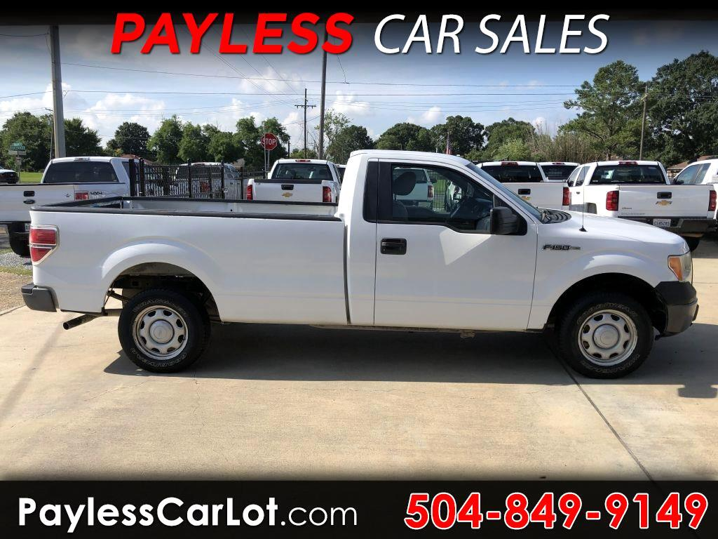 "2010 Ford F-150 Reg Cab 120"" XL"