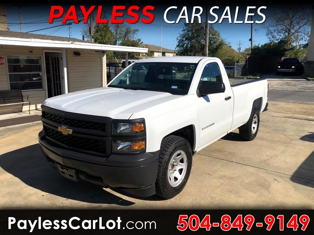 Chevrolet Silverado 1500 Work Truck Long Box 2WD 2015