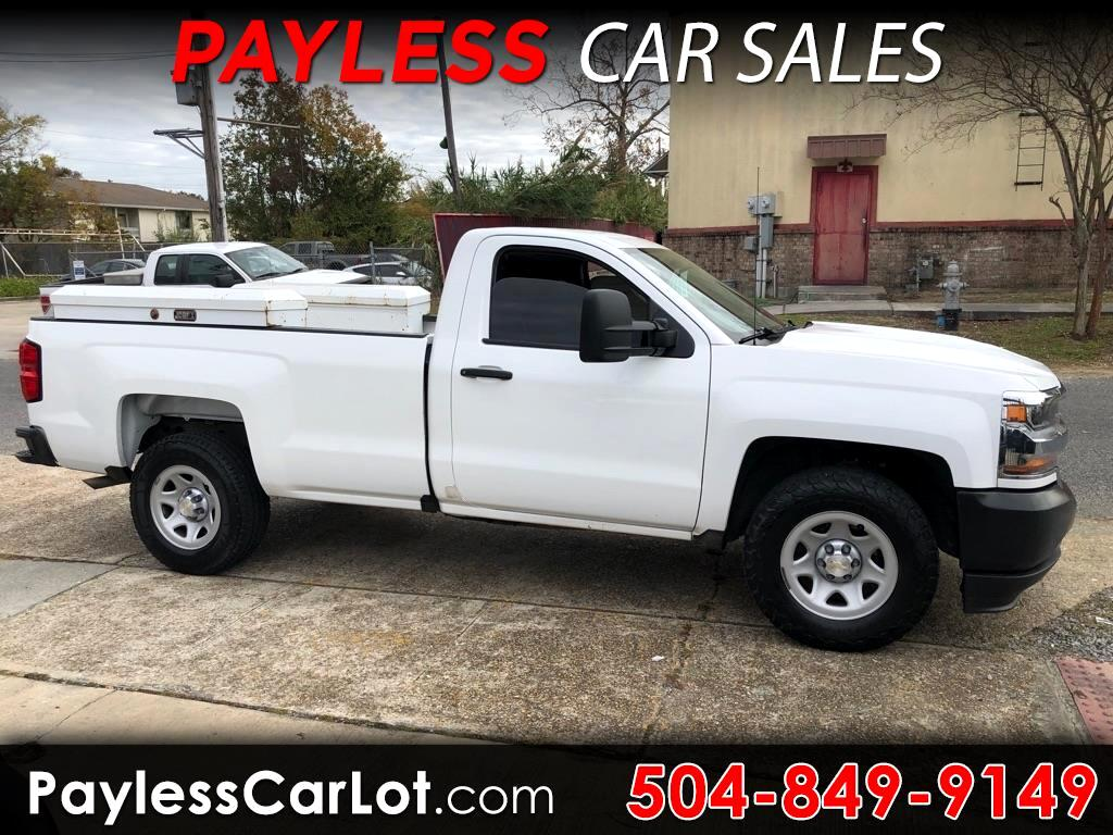 Chevrolet Silverado 1500 Work Truck Long Box 2WD 2016