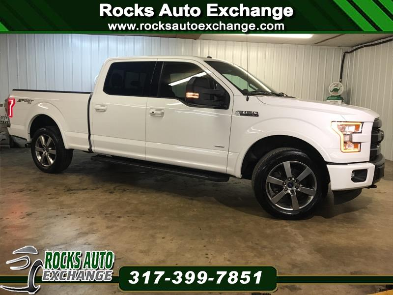 "2015 Ford F-150 SuperCrew 150"" Lariat 4WD"