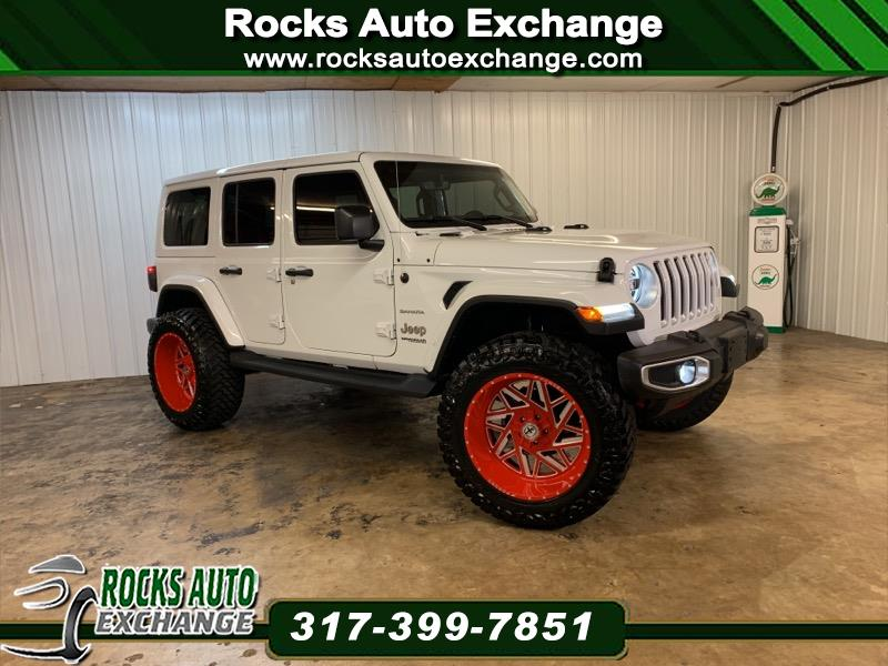2018 Jeep Wrangler Unlimited 4WD 4dr Sahara