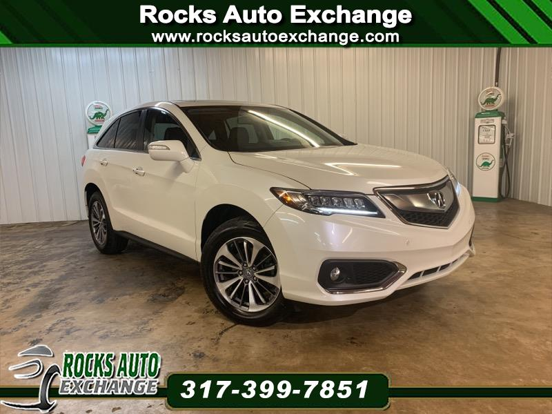 2017 Acura RDX 6-Spd AT AWD w/Advance Package