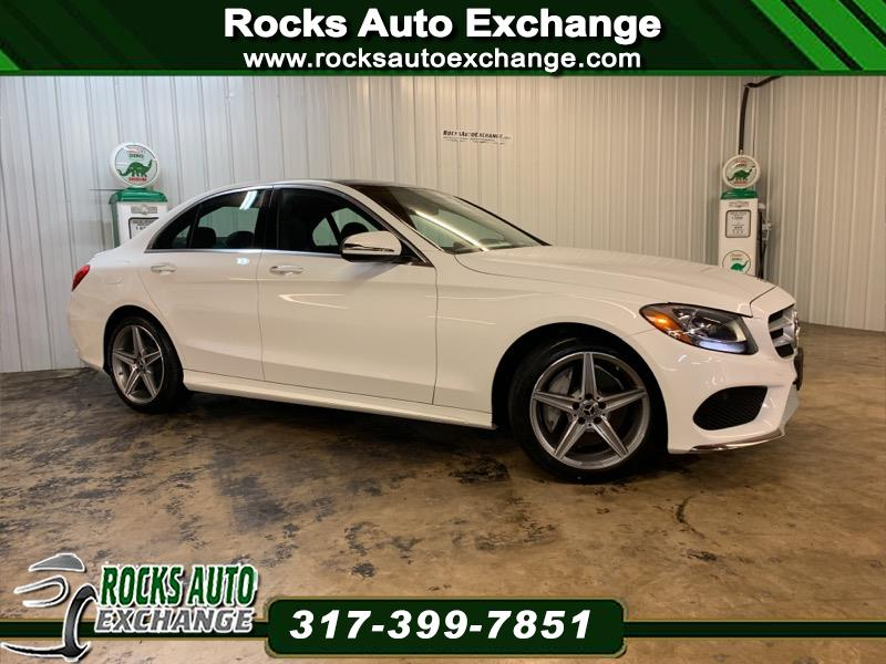 2018 Mercedes-Benz C-Class C300 4MATIC Sport Sedan