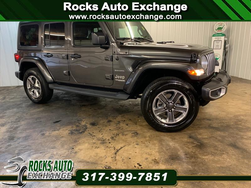 2019 Jeep Wrangler Unlimited 4WD 4dr Sahara