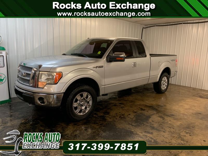 2010 Ford F-150 SUPERCAB 4X4 LARIAT