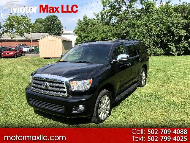 2012 Toyota Sequoia Limited 4WD FFV