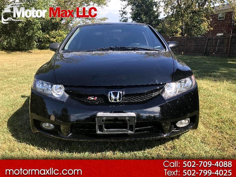 2010 Honda Civic Si Sedan 6-Speed MT