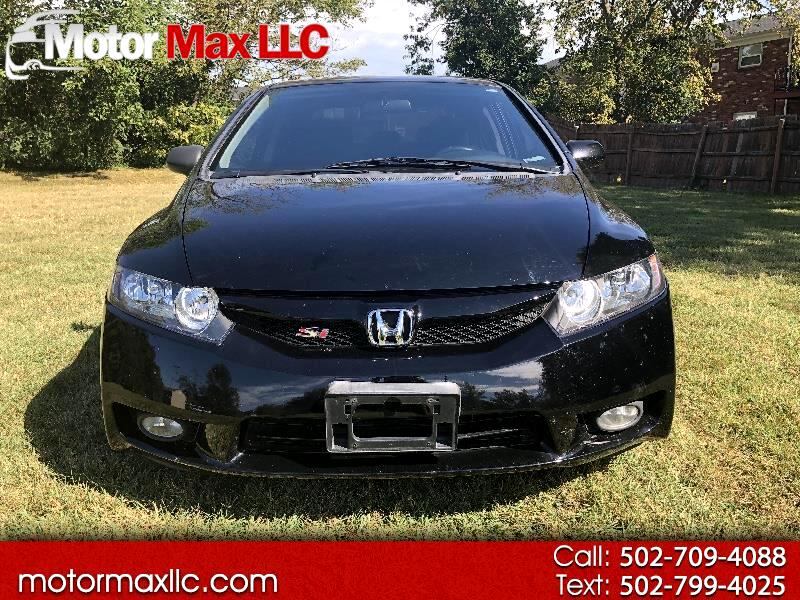 2010 Honda Civic Si Sedan 6-Speed MT