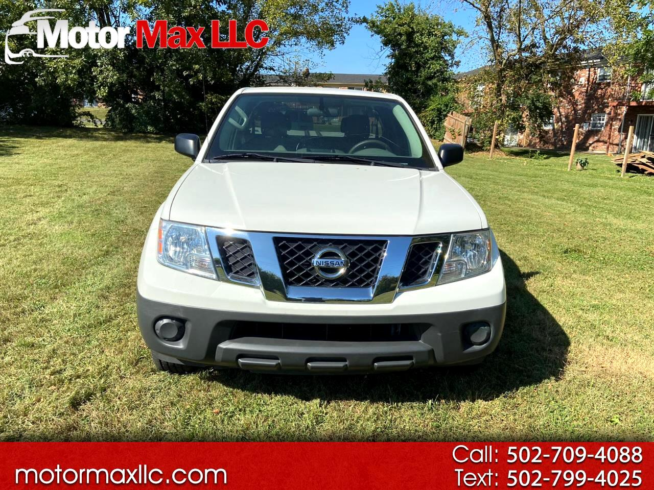 Nissan Frontier SV King Cab I4 5MT 2WD 2017