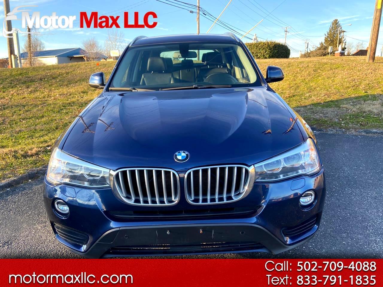 BMW X3 AWD 4dr xDrive28d 2015