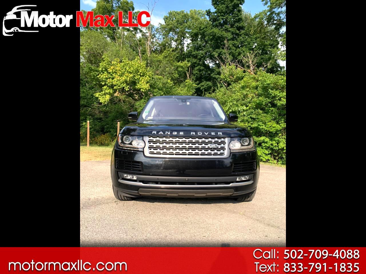 Land Rover Range Rover 4WD 4dr HSE 2016
