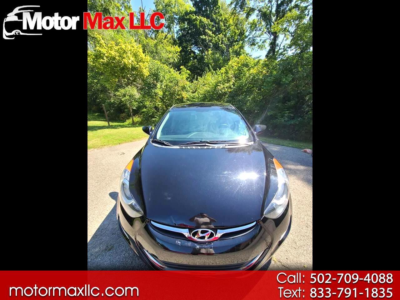 Hyundai Elantra Limited 2.0L Auto (Alabama) 2013