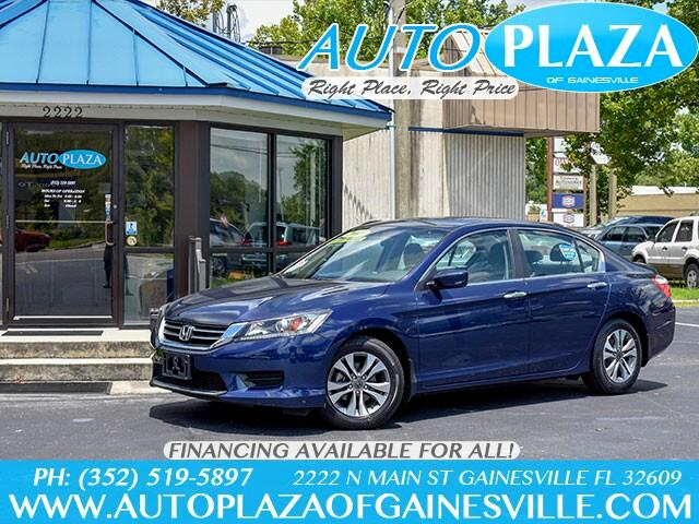 Buy Here Pay Here 2013 Honda Accord For Sale In Gainesville Fl