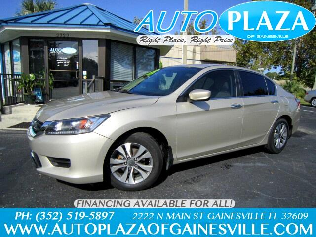 Buy Here Pay Here 2014 Honda Accord For Sale In Gainesville Fl