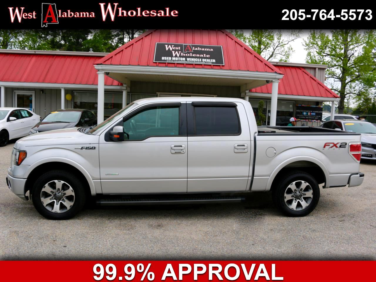 "2012 Ford F-150 2WD SuperCrew 145"" FX2 Sport"