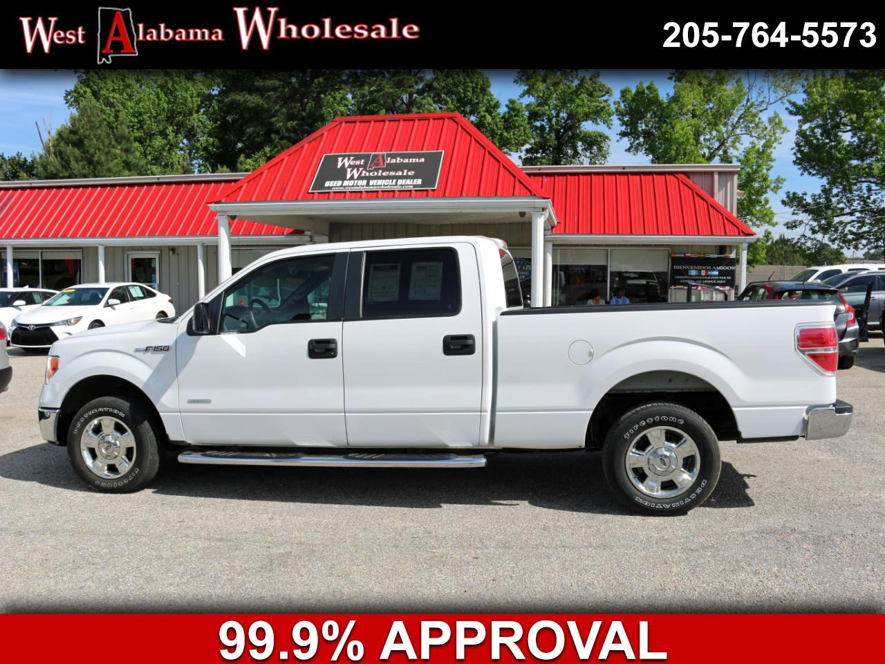 "2013 Ford F-150 2WD SuperCrew 145"" XLT"