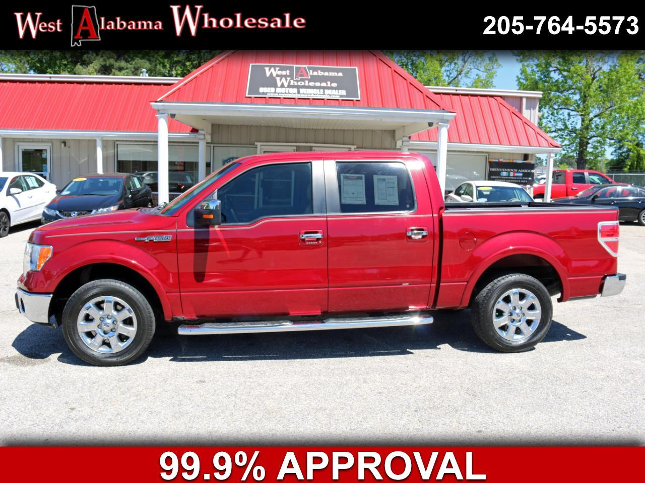"2014 Ford F-150 2WD SuperCrew 145"" Platinum"