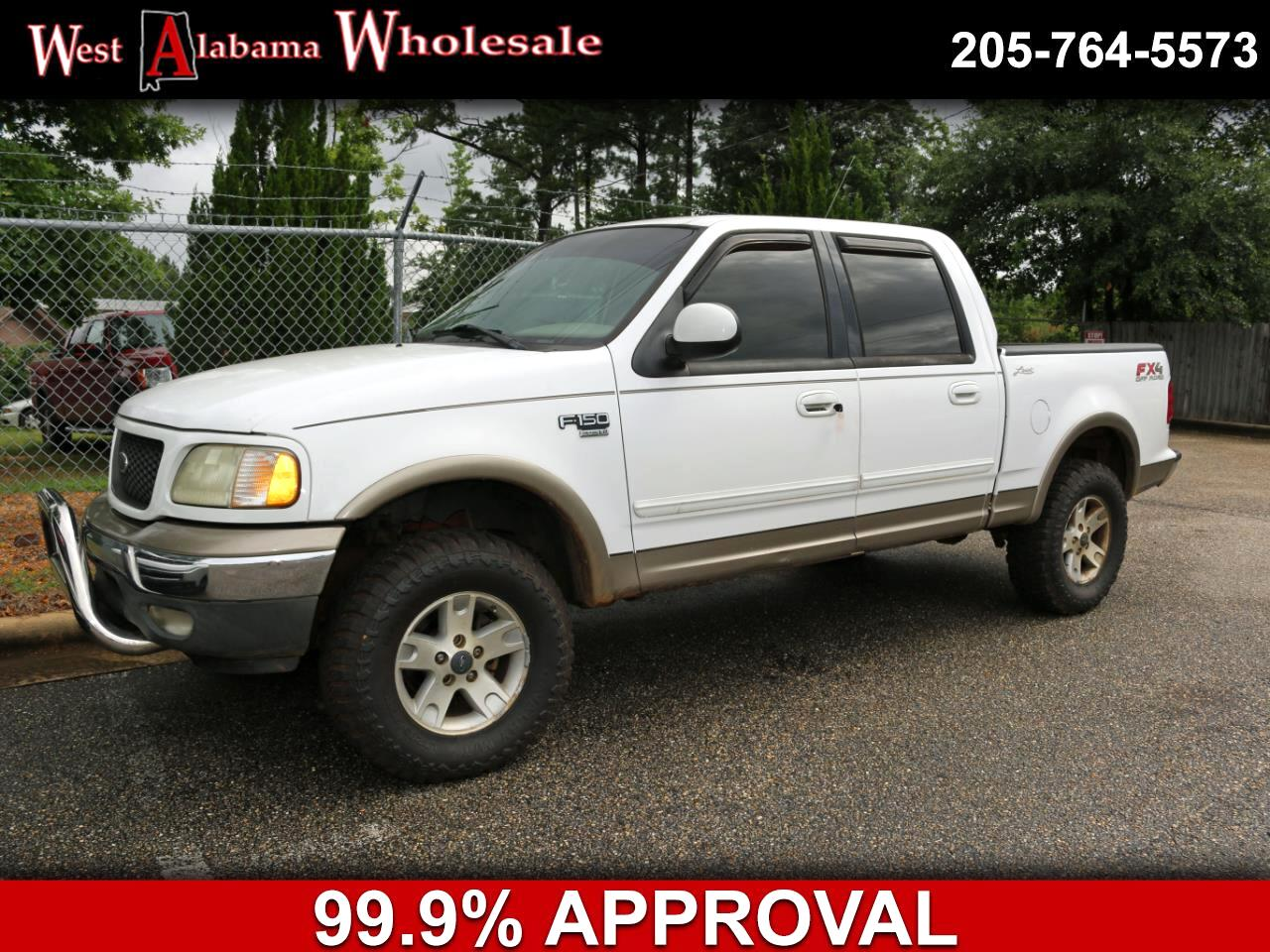 """2002 Ford F-150 SuperCrew 139"""" King Ranch 4WD"""
