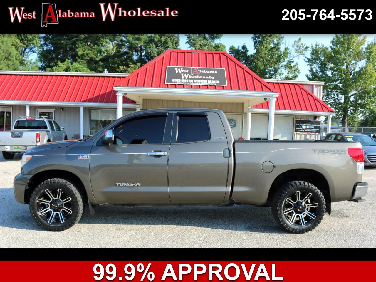 2012 Toyota Tundra 4WD Truck Double Cab 5.7L V8 6-Spd AT LTD (Natl)