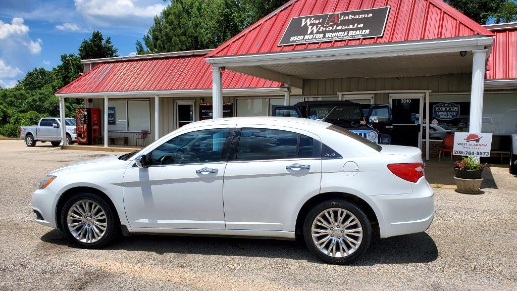 Chrysler 200 4dr Sdn Limited 2012