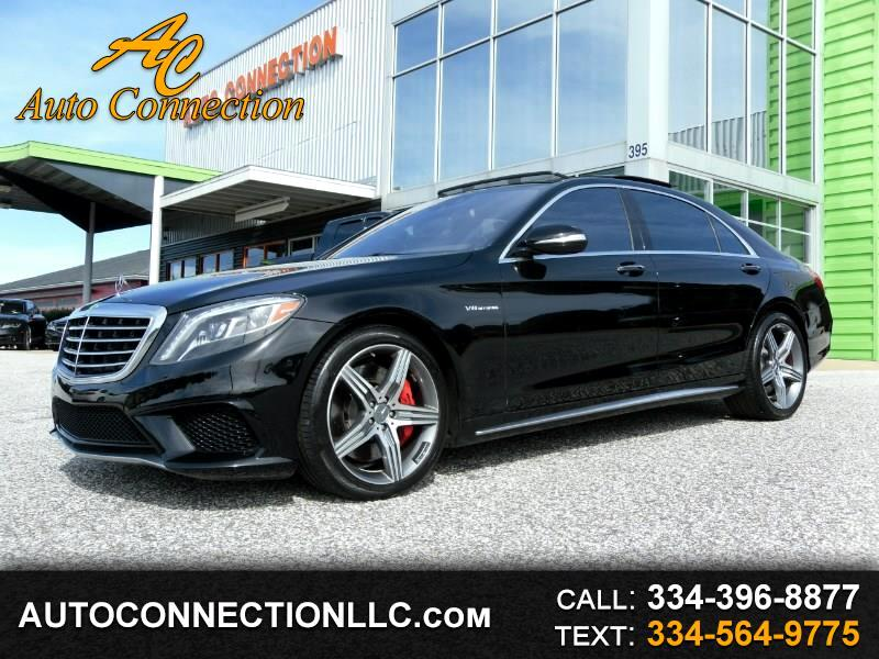 2015 Mercedes-Benz S-Class 4dr Sdn S 63 AMG 4MATIC