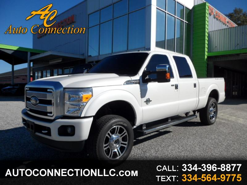 "2016 Ford Super Duty F-250 SRW 4WD Crew Cab 156"" Platinum"