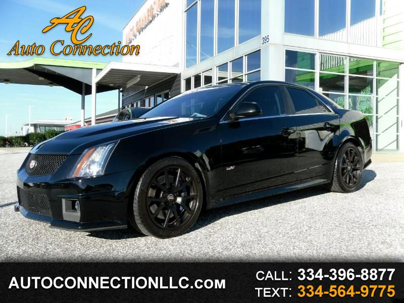 2011 Cadillac CTS-V Sedan 4dr Sdn
