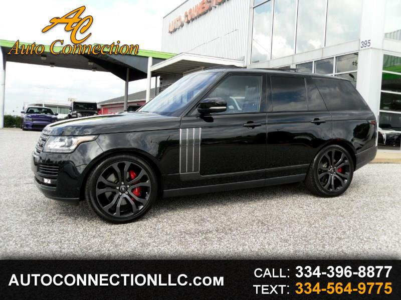 2017 Land Rover Range Rover V8 Supercharged SV Autobiography Dynamic SWB