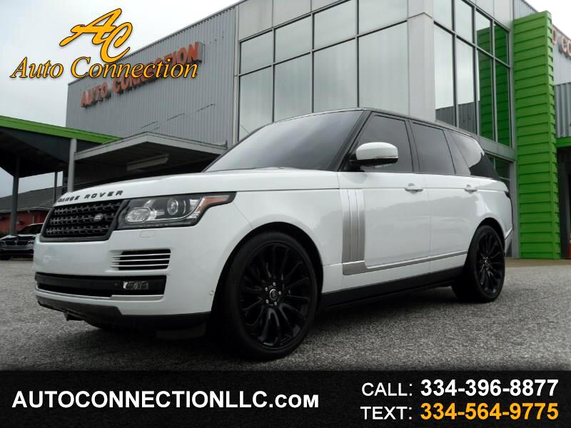 2013 Land Rover Range Rover 4WD 4dr SC Autobiography