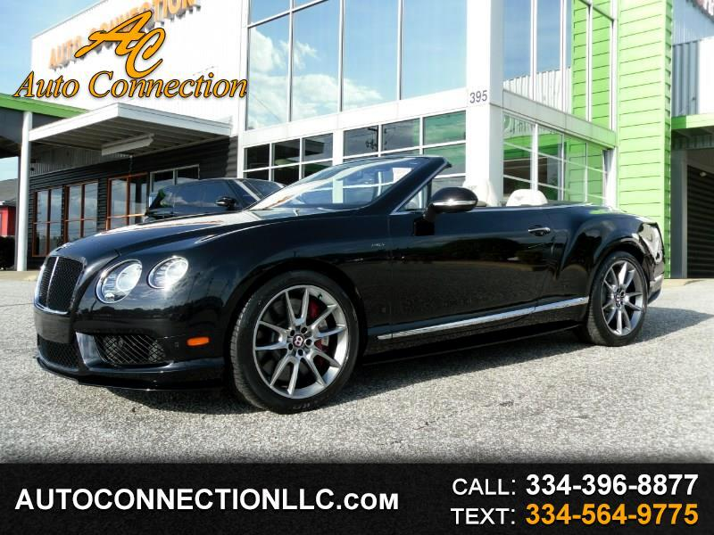 2015 Bentley Continental GT V8 S 2dr Conv