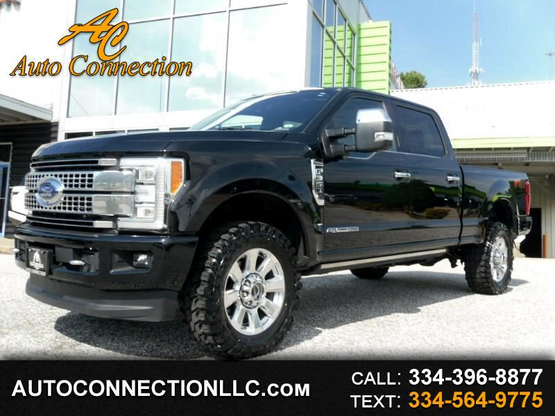 2017 Ford Super Duty F-350 SRW Platinum 4WD Crew Cab 6.75' Box