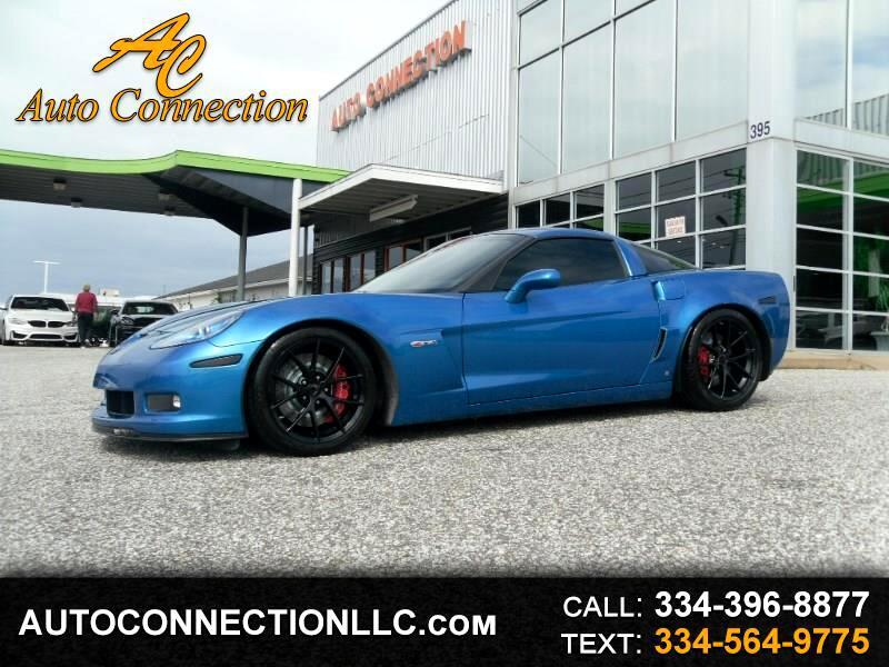 2009 Chevrolet Corvette 2dr Cpe Z06 w/2LZ
