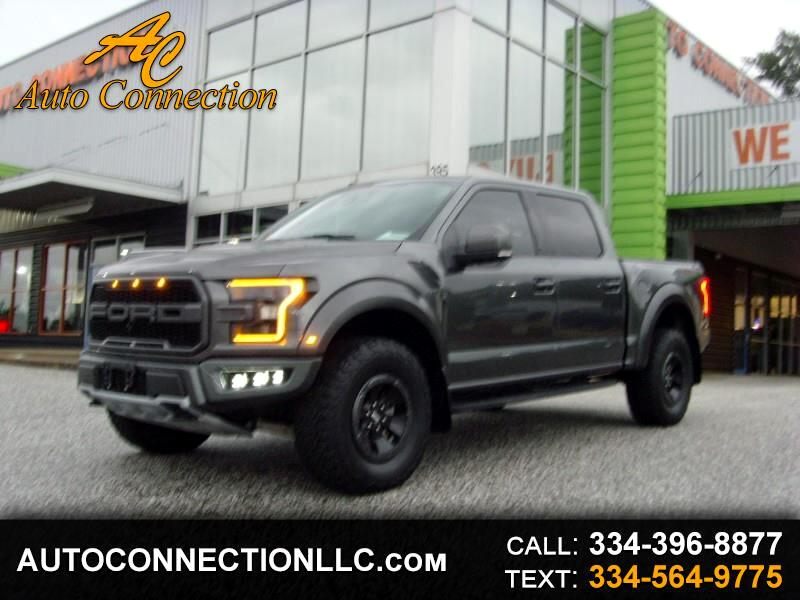 Ford F-150 Raptor 4WD SuperCrew 5.5' Box 2018
