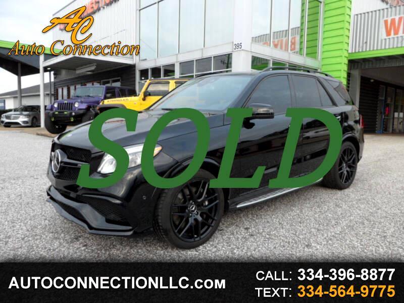 Mercedes-Benz GLE AMG GLE 63 4MATIC SUV 2018