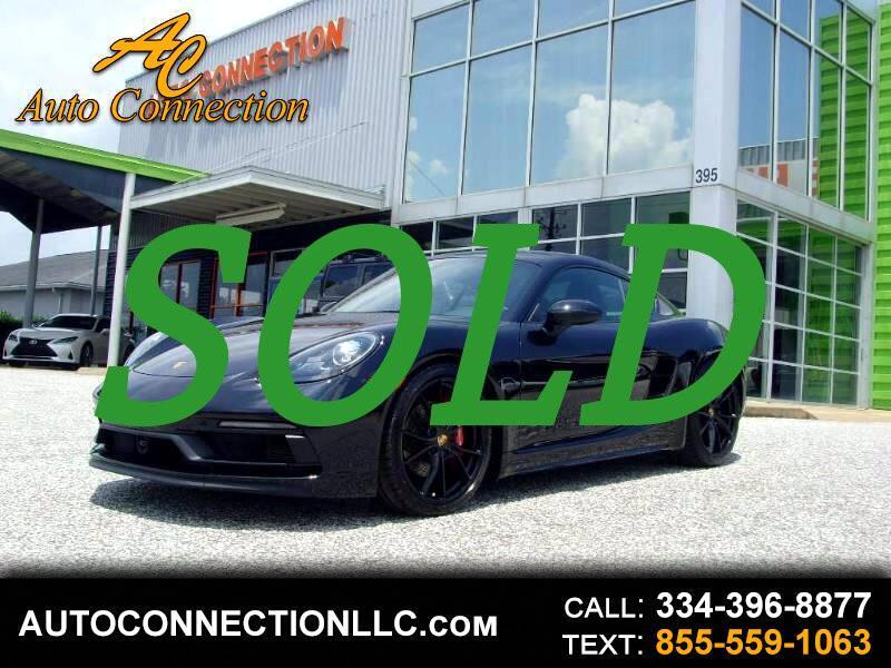 Porsche 718 Cayman GTS Coupe 2018