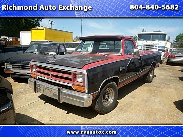 1987 Dodge D150 2WD