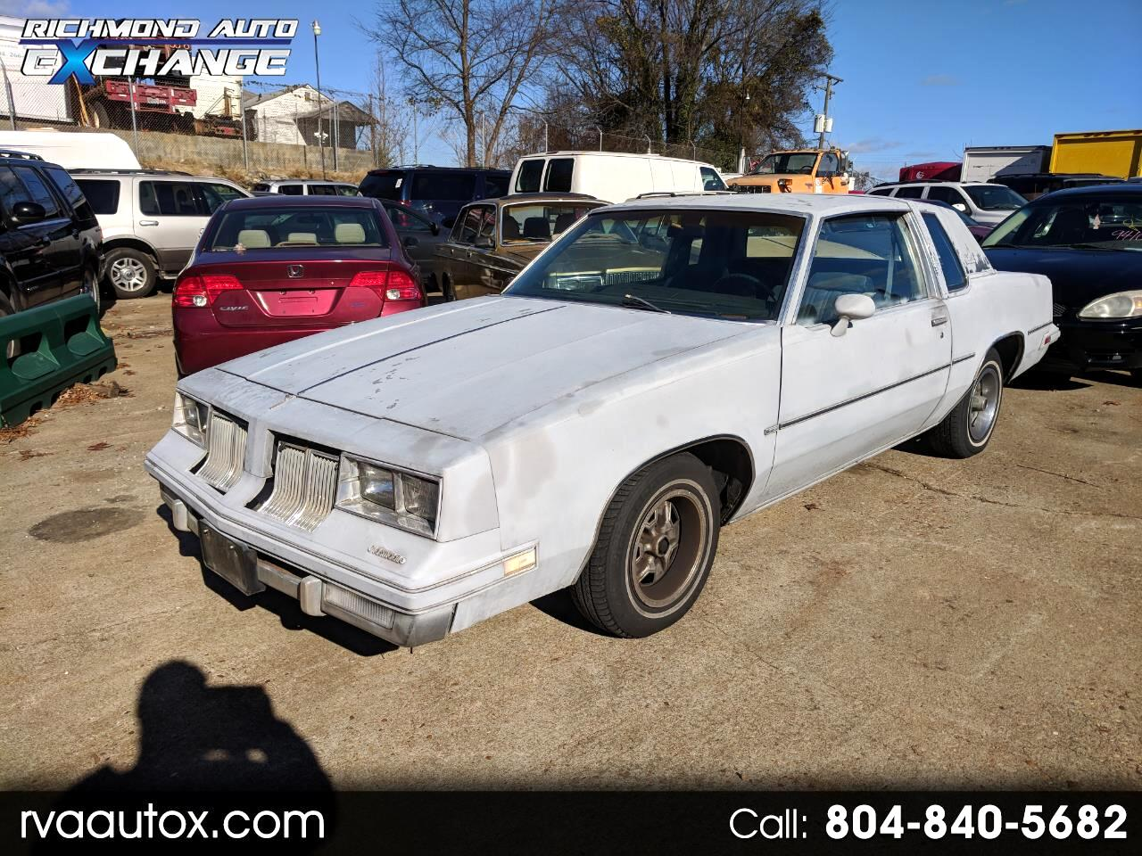 1982 Oldsmobile Cutlass Supreme Base