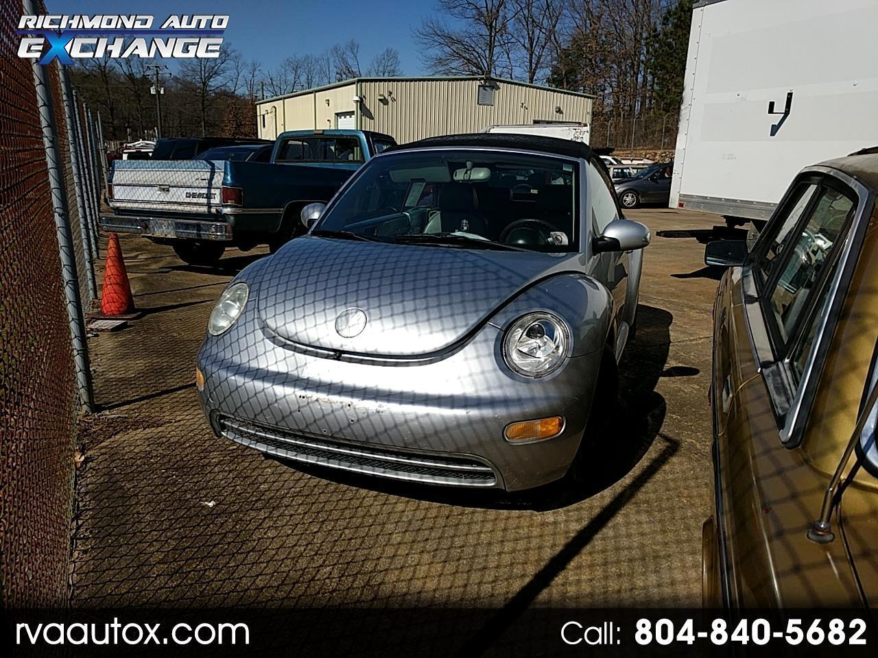 2004 Volkswagen New Beetle GL 2.0L Convertible