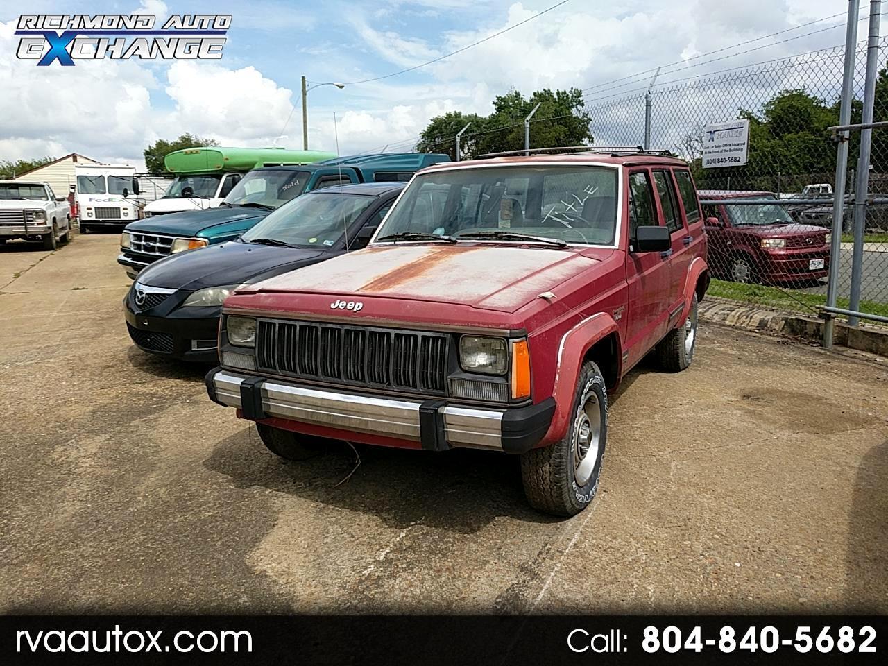 1989 Jeep Cherokee Pioneer 4-Door 4WD
