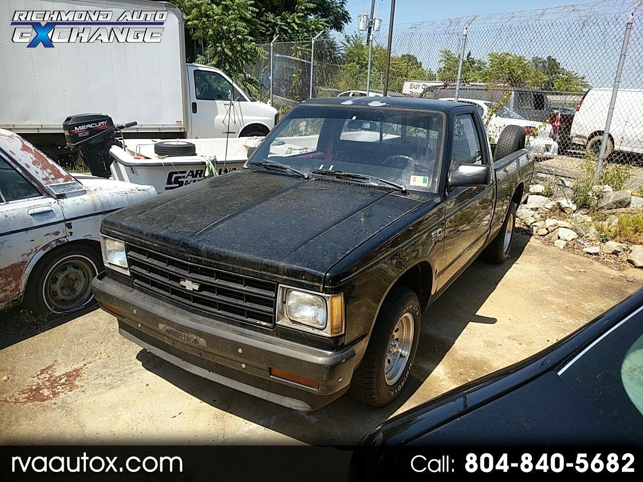 1985 Chevrolet S10 Regular Cab 2WD