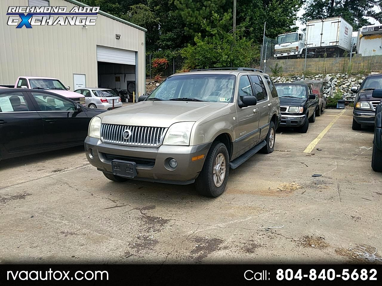 2002 Mercury Mountaineer 2WD