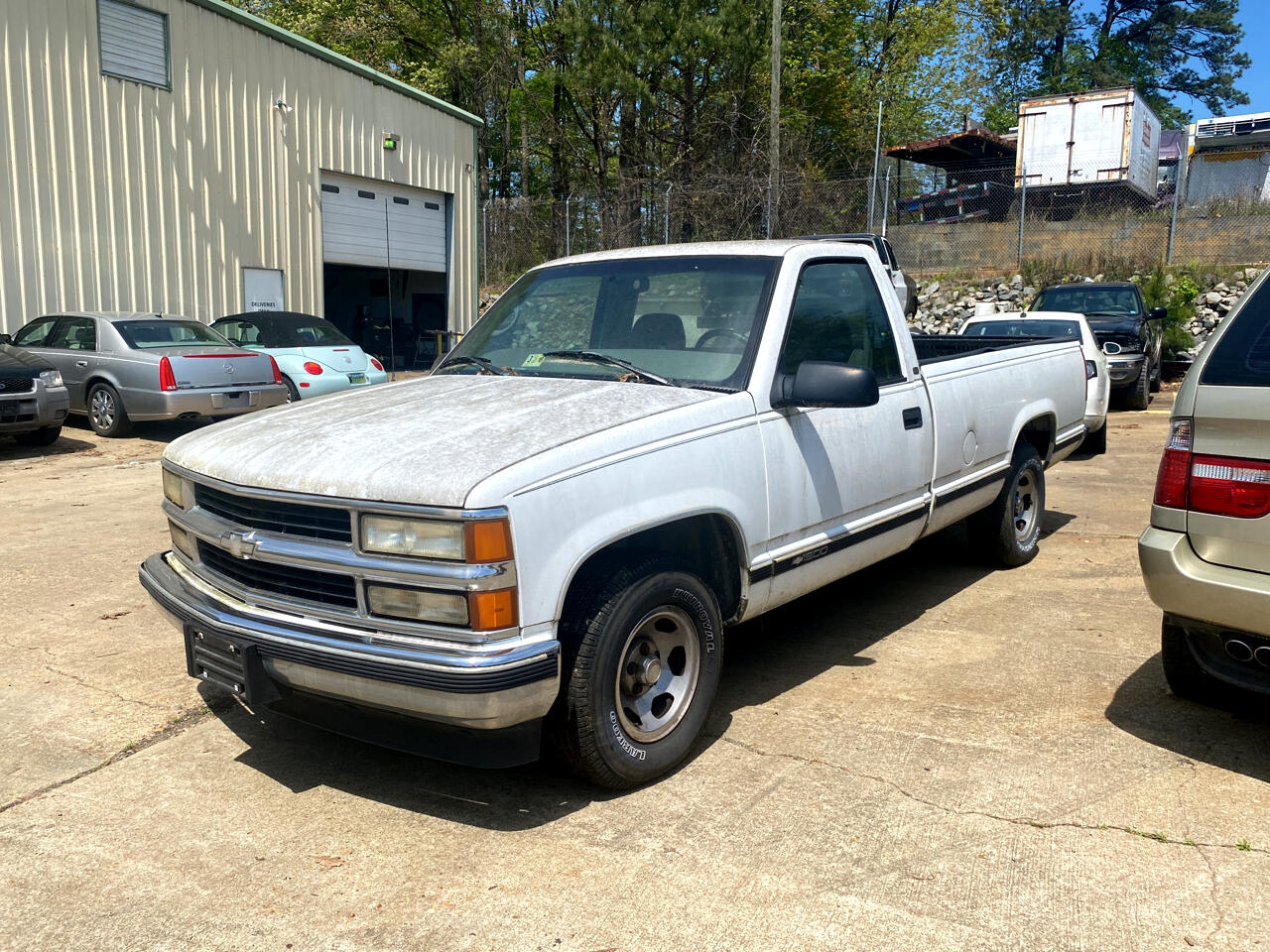 Chevrolet C/K 1500 Reg. Cab W/T 6.5-ft. bed 2WD 1997