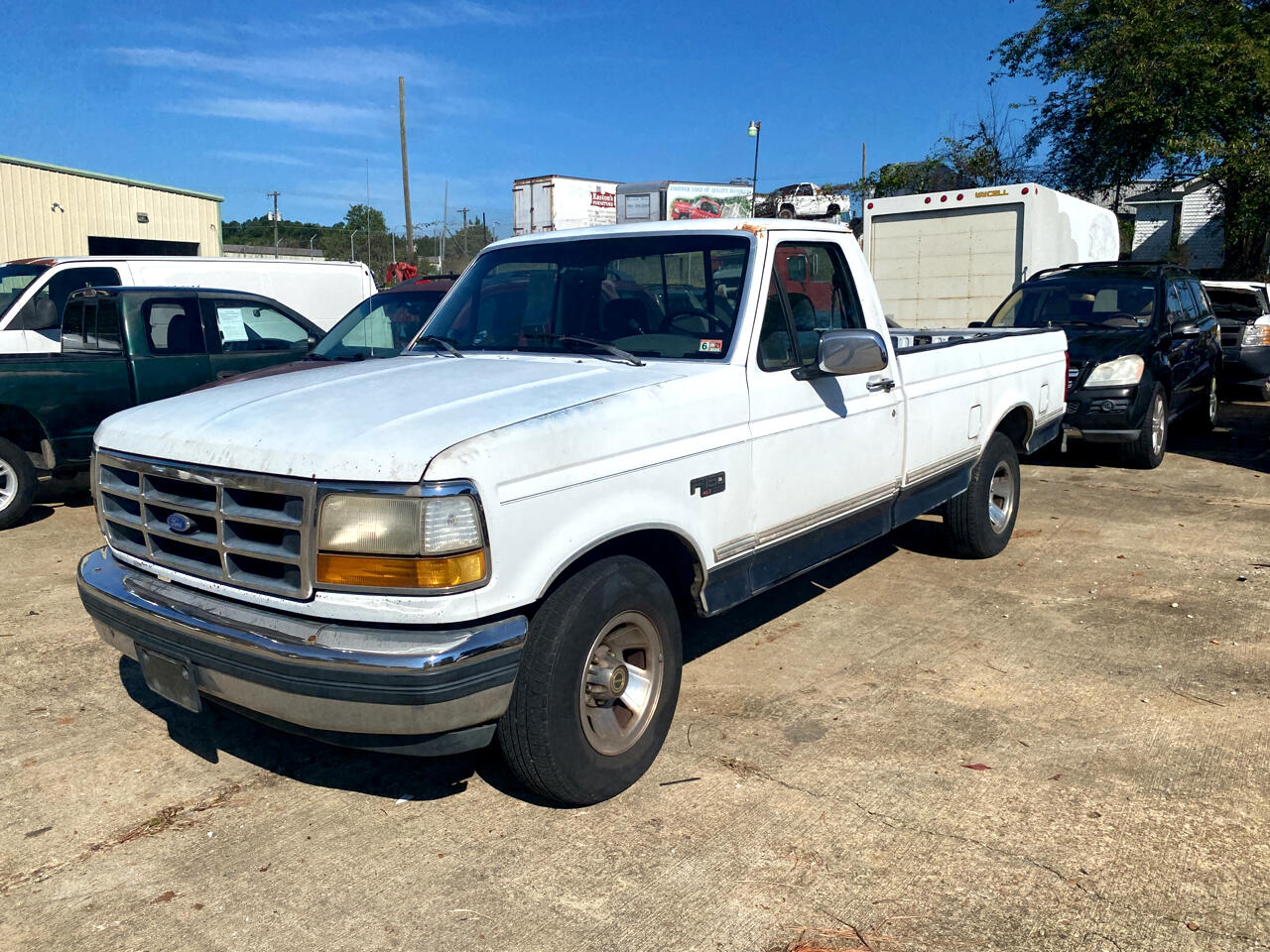Ford F-150 S Reg. Cab Short Bed 2WD 1992