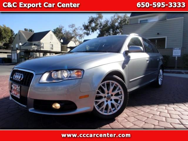 2008 Audi A4 Avant 2.0 T quattro with Tiptronic
