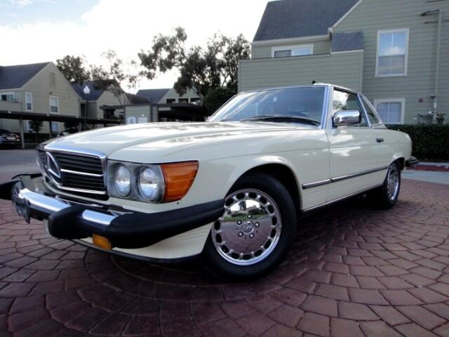 Mercedes-Benz 560 SL coupe 1988